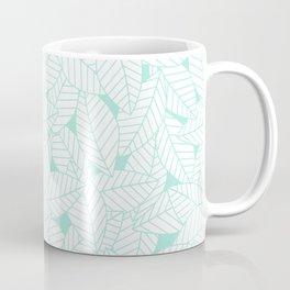 Leaves in Ocean Coffee Mug