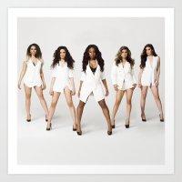 fifth harmony Art Prints featuring Fifth Harmony Boss by TSMM