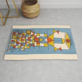 Paul Klee - Postcard No. 4 Rug