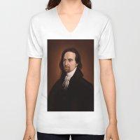 amy hamilton V-neck T-shirts featuring Hamilton by days & hours