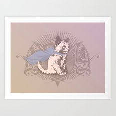 Fearless Creature: Kit Art Print