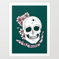 'til Death. Art Print