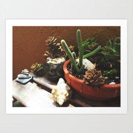 Garden Life Art Print