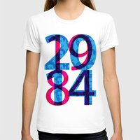 1984 T-shirts featuring Orwell 1984 - 2014 by Ned & Ems