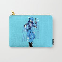 Cowgirl vs Alien Carry-All Pouch