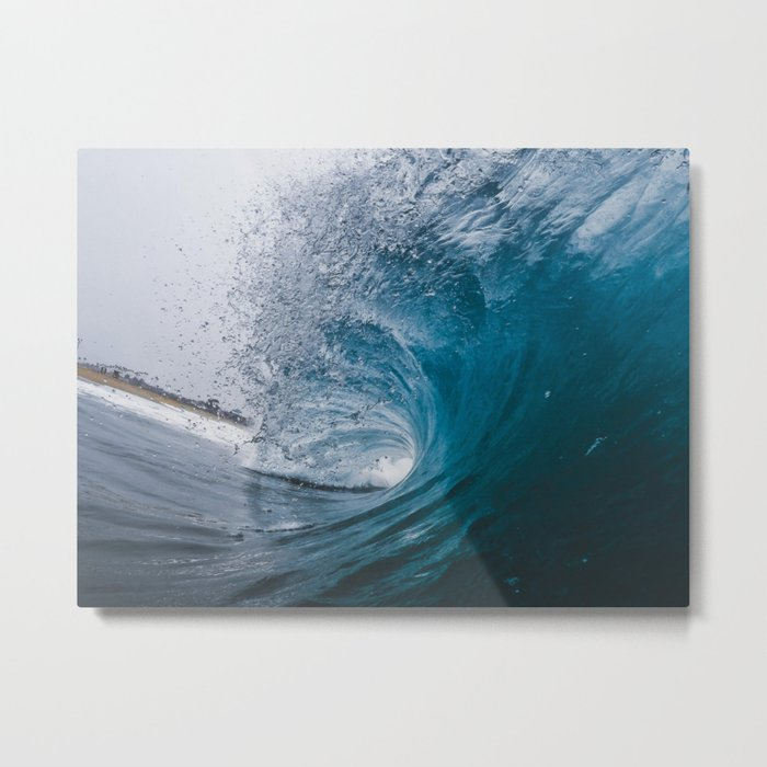 Great Surf Metal Print