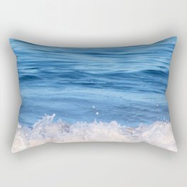 Ocean Froth Rectangular Pillow