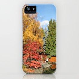 Japanese Garden, Kelowna, B.C. iPhone Case