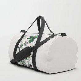 Green Flowers Duffle Bag