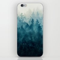 christmas tree iPhone & iPod Skins featuring The Heart Of My Heart // So Far From Home Edit by Tordis Kayma