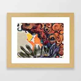 Gracious (metallic) Framed Art Print
