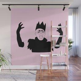 Queen Sasha Velour Wall Mural