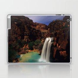 Havusu Falls at Night Laptop & iPad Skin