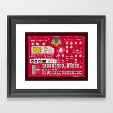Korg Electribe ESX-1 Framed Art Print