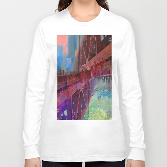 Double bridge Long Sleeve T-shirt