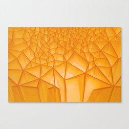 Geometric Plastic Canvas Print