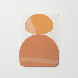Abstraction_ROCK_Balance_Minimalism_001 Bath Mat