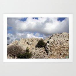 Nimrod Castle Art Print