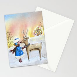 my friend rudolph Stationery Cards