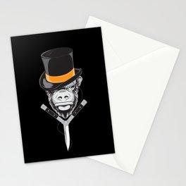 Savage Society: Monocle Monkey Stationery Cards