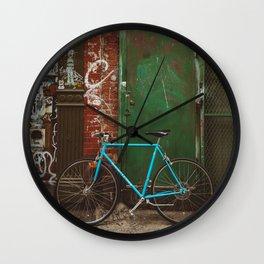 East Village III Wall Clock