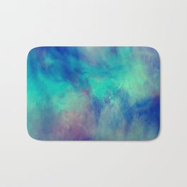Abstract watercolor grunge pattern Bath Mat