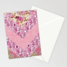Romantic zig zag Stationery Cards