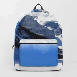 Lake Louise in Banff National Park Backpack