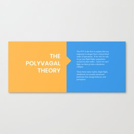 The Polyvagal Theory Canvas Print