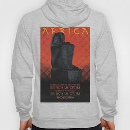 African Dynastic Art of Egypt At the British Museum, Circa 1930 Vintage Advertisement Poster by Austin Cooper Hoody