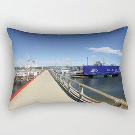 Pier at Lakes Entrance Rectangular Pillow