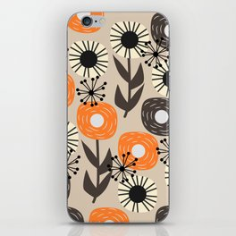 Some happy flowers iPhone Skin