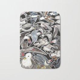 Sea gulls for bird lovers Bath Mat
