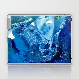Environmental Blue Leaves, Tiny World Collection Laptop & iPad Skin