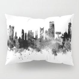 Boston Massachusetts Skyline Pillow Sham