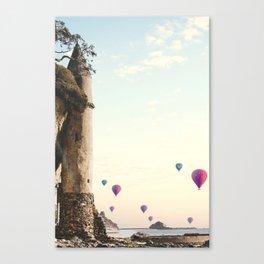 The Tower in Laguna Beach California Canvas Print