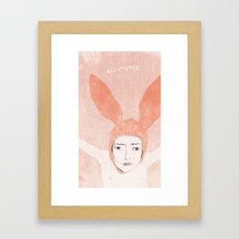 Bunnyboy Framed Art Print
