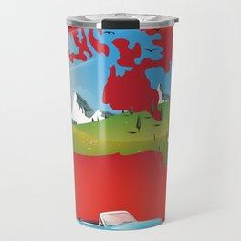 Canada illustrated travel poster. Travel Mug