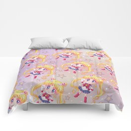 Sailor Moon Crystal Pattern Comforters