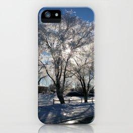 Sunshine in winter iPhone Case