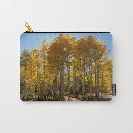 Autumn Blaze outside of Crested Butte, Colorado for #Society6 Carry-All Pouch