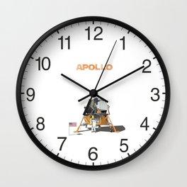 Apollo Lunar Module Wall Clock