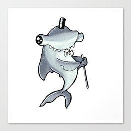 PSC Hammerhead Shark Canvas Print