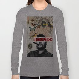 Public Figures Collection - Che Guevara Long Sleeve T-shirt