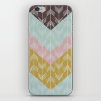 arrows iPhone & iPod Skins featuring arrows by Emma S