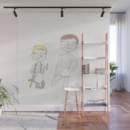 Life-drawing practice Wall Mural