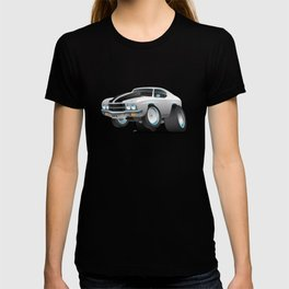 Classic Seventies American Muscle Car Cartoon T-shirt