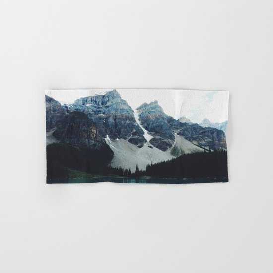 Moody Moraine lake Hand & Bath Towel