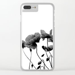 wildflowers 03 Clear iPhone Case
