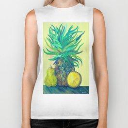Pear and Pineapple Biker Tank